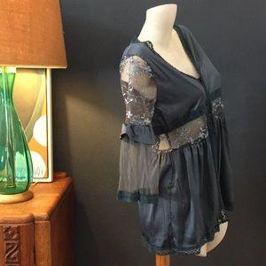 POL Tops - Satin Kimono